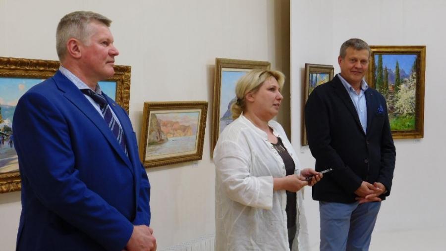 В музее открылась выставка Заслуженных художников России братьев Сидоренко