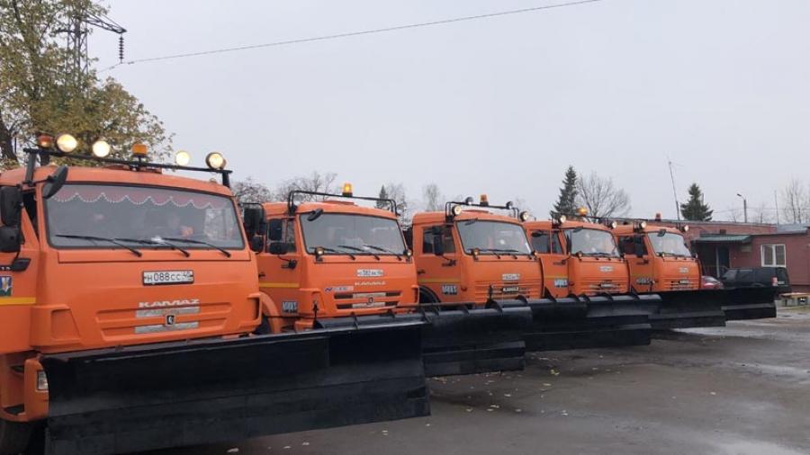 Машины против снега