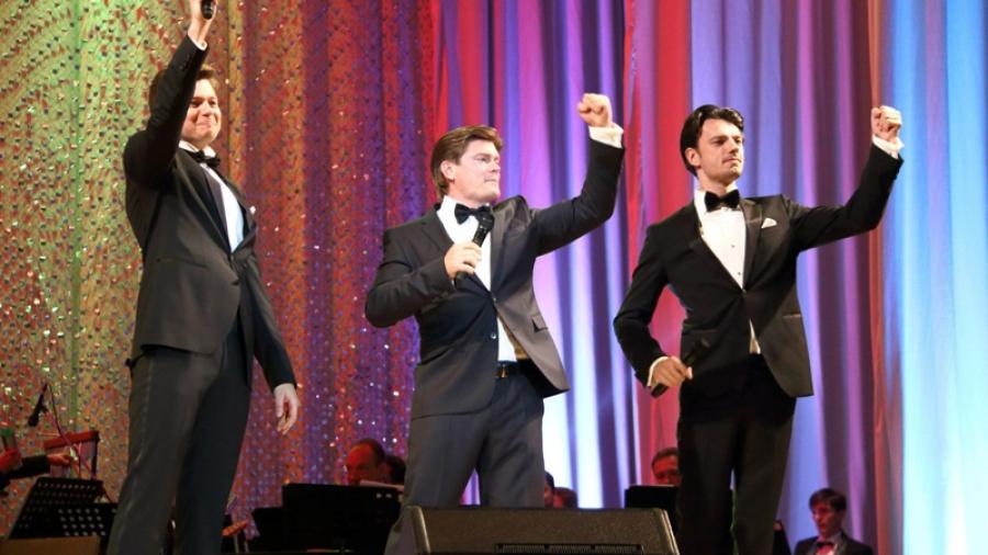 14 декабря Игорь Милюков с группой «Новые голоса» на сцене ГДК даст концерт классики советской песни