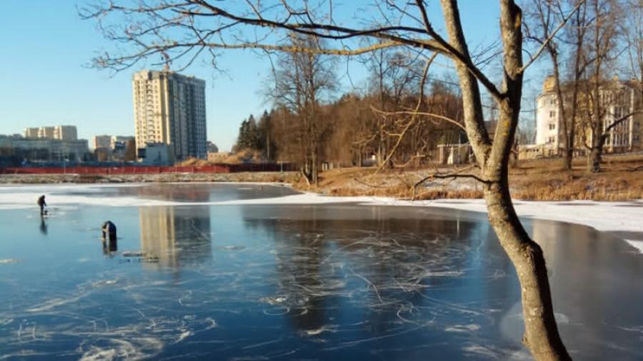 Пока по всей Калужской области вовсю заливают катки, в Обнинске ждут снега