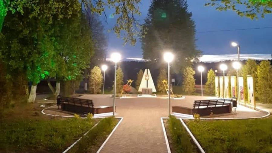 В Кривском готовятся открыть Сквер Победы