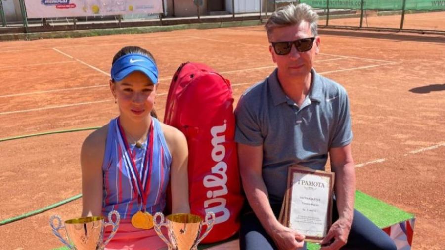 Мария Тэнасэ выиграла всроссийский теннисный турнир в Симферополе