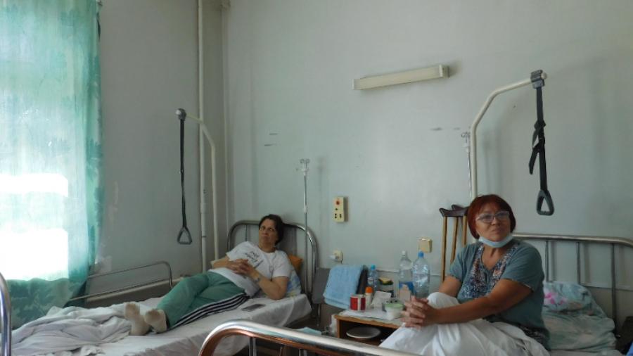 В обнинском отделении травматологии установили новые кровати