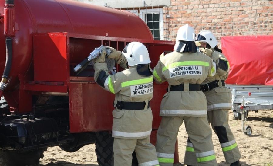 Добровольные пожарные прикрывают почти четверть территории Калужской области