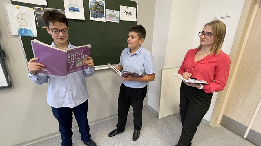Победитель городского конкурса «Молодой учитель-2021» Надежда Празян: «У меня на уроках хорошее настроение»