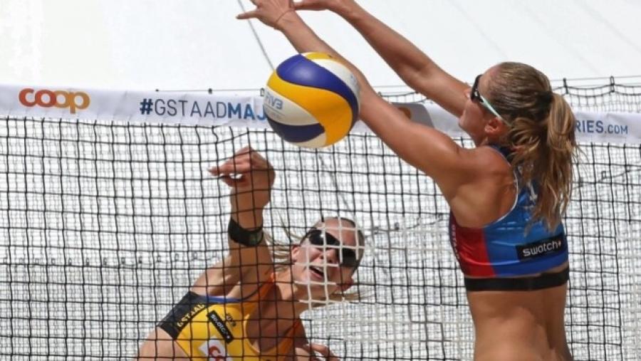 Обнинская пляжница Светлана Холомина выиграла этап Мирового тура в Португалии