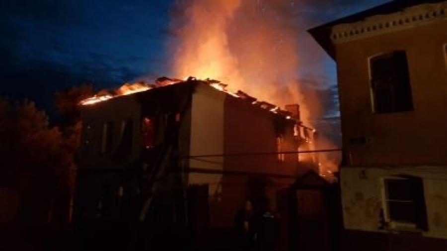 Задержан один из подозреваемых, по вине которого произошел пожар в Боровске, унесший три жизни