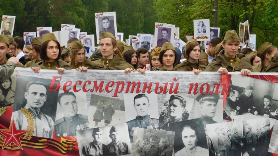 Живые истории войны: в Обнинске в строю Бессмертного полка прошли больше 2000 человек