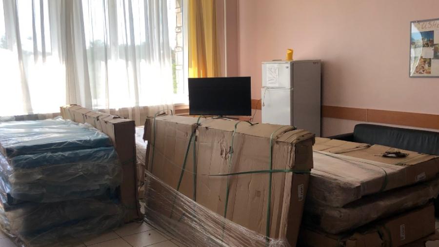 Благотворительный фонд «Ради жизни» передал КБ№8 в дар функциональные кровати