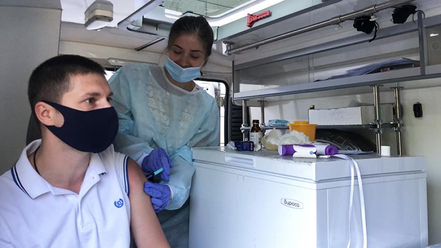 Область помогает Обнинску с вакцинами