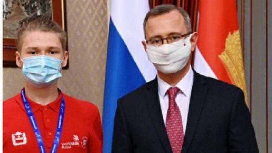 Калужский студент – член национальной сборной России по WorldSkills