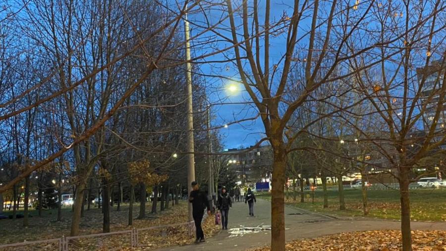 В Обнинске рядом с улицей Гагарина стало светлее