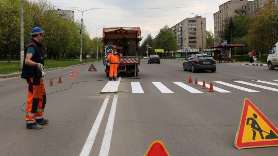 Обнинские депутаты предлагают привлекать к ремонту дорог подрядчиков, которые могут сделать современную разметку