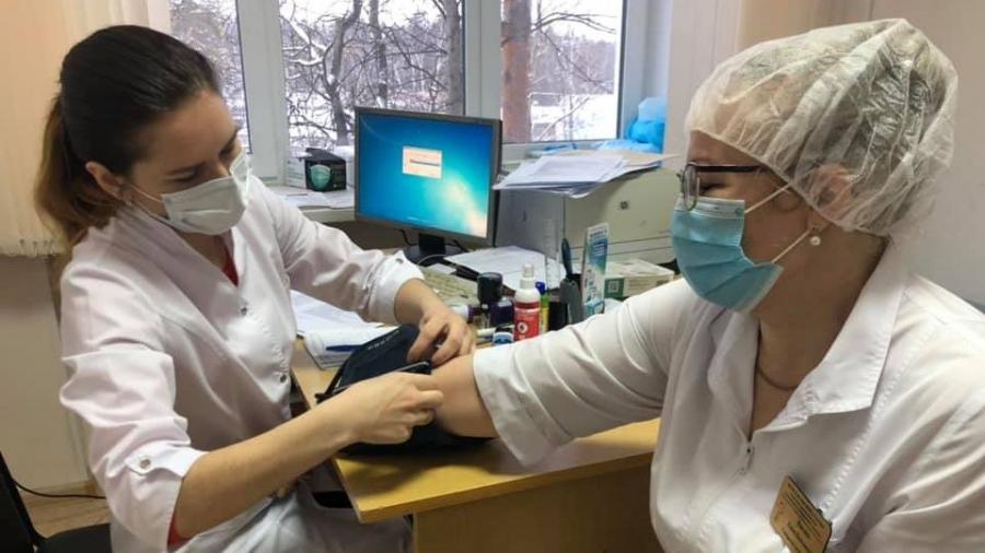В Обнинске началась вакцинация против коронавируса