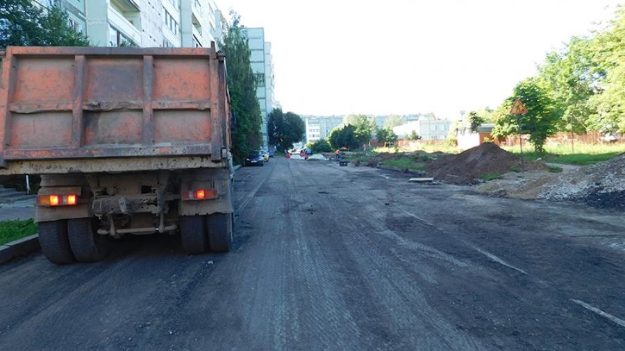 Во дворе на Белкинской, 27 появятся тротуар и новые парковочные места