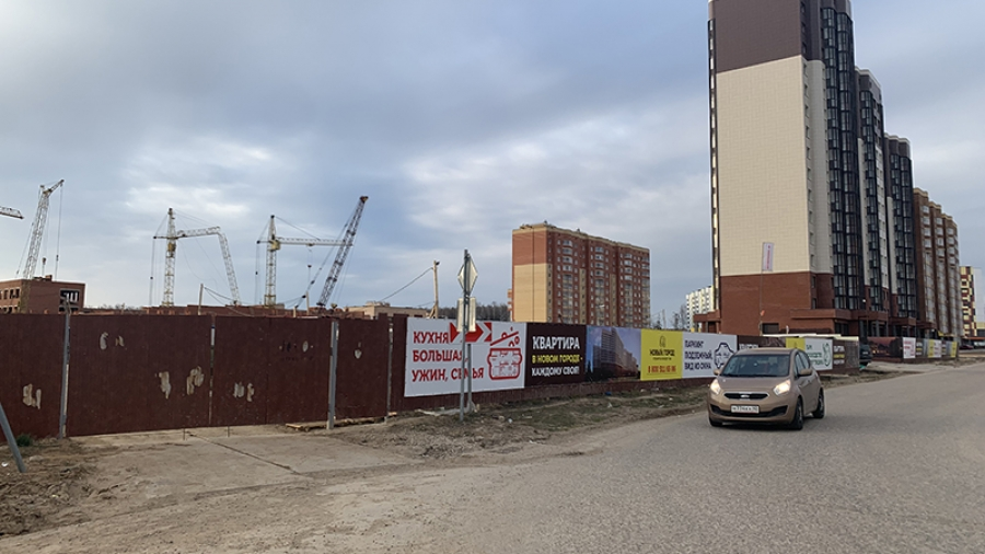 В Обнинске продолжается строительство школы №18