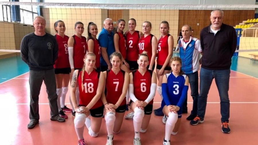 ВК «Обнинск» выиграл два матча и попал в тройку лидеров высшей лиги «Б»