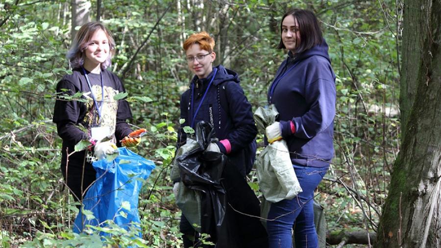 В Обнинске пройдут очередные «Чистые игры». Участники посоревнуются, кто больше вынесет мусора из Гурьяновского леса