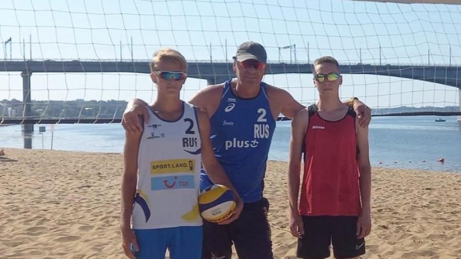 Новая победа обнинских пляжных волейболистов