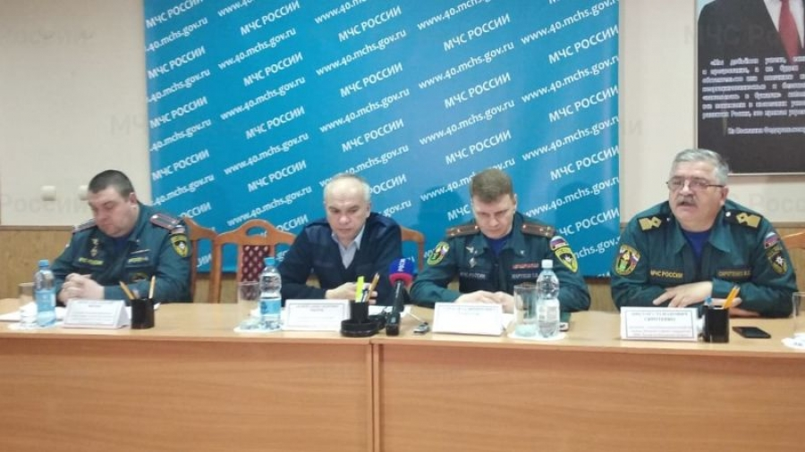 В Калужской области на случай масштабного паводка создадут 12 пунктов для временного размещения 1 910 человек