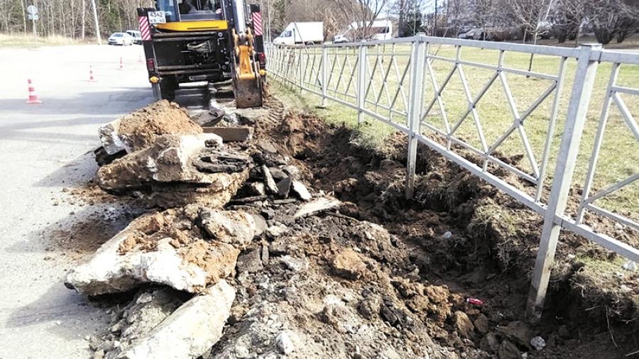 В Обнинске приступили к работам по нацпроекту «Безопасные и качественные автомобильные дороги»