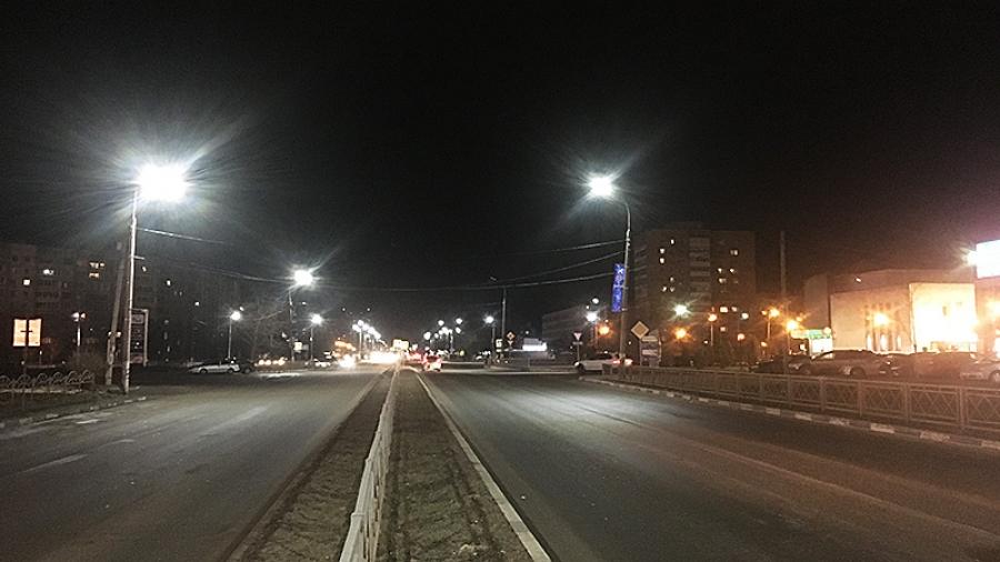 Центральные улицы Обнинска переходят на светодиодное освещение