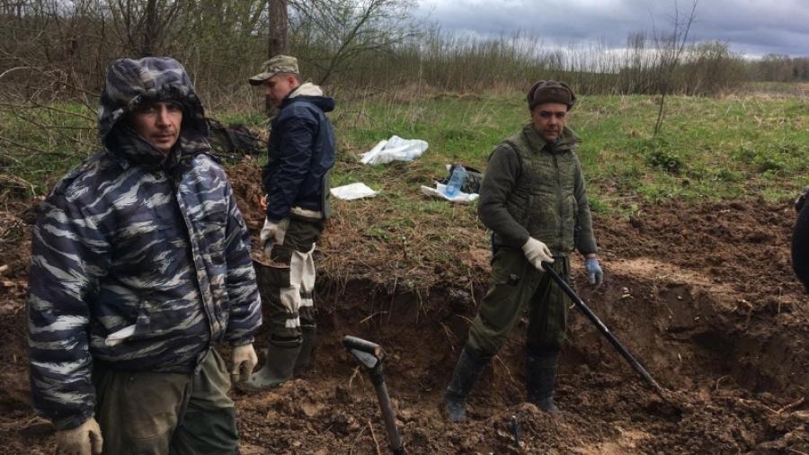 За первый месяц «Вахты памяти» в Калужской области подняли останки 29 бойцов РККА