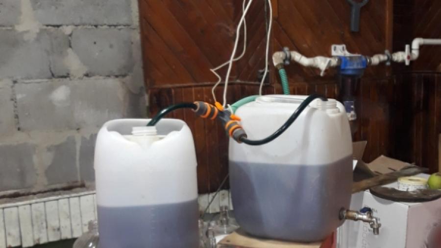 В Калуге обнаружили подпольный цех по розливу алкоголя