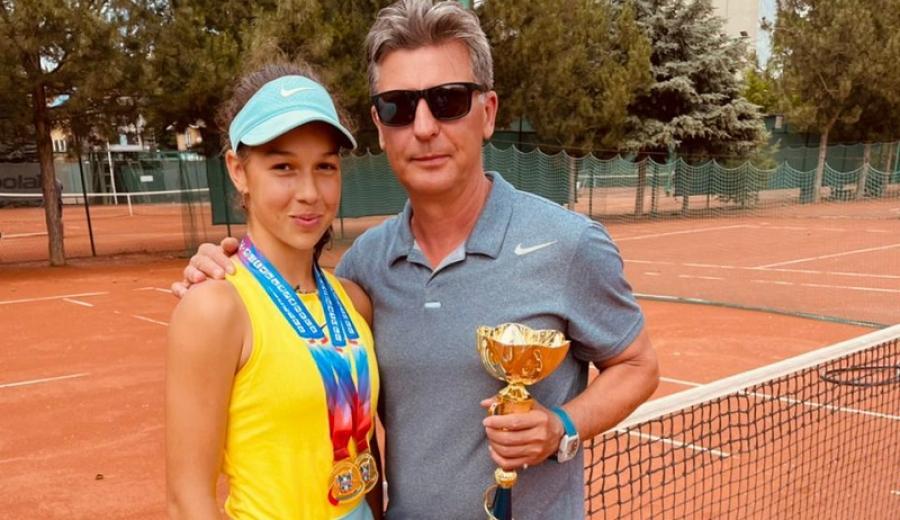"""""""Золото"""" обнинских теннисисток"""