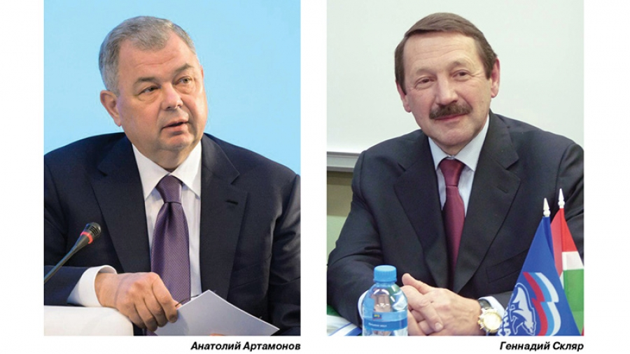 Сенатор Анатолий Артамонов и депутат Госдумы Геннадий Скляр провели совместную пресс-конференцию, заложив новый формат общения с прессой