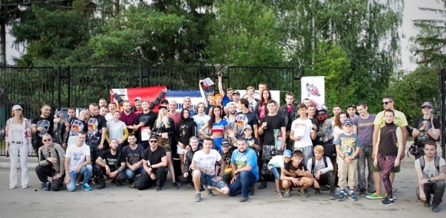 В Совхозе «Боровский» завершился I этап областных соревнований по мотоджимхане