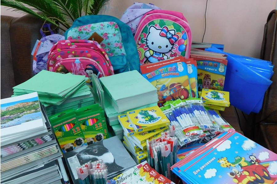 В Обнинске стартовала акция «Помоги собраться в школу»