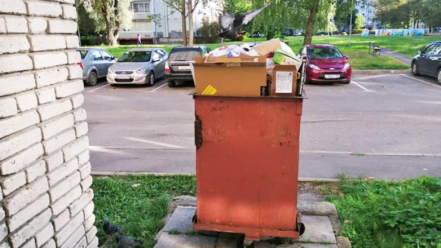 Обнинцы недовольны работой перевозчика мусора