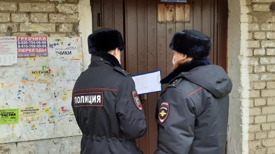 Обнинские полицейские проверяют самоизолированных