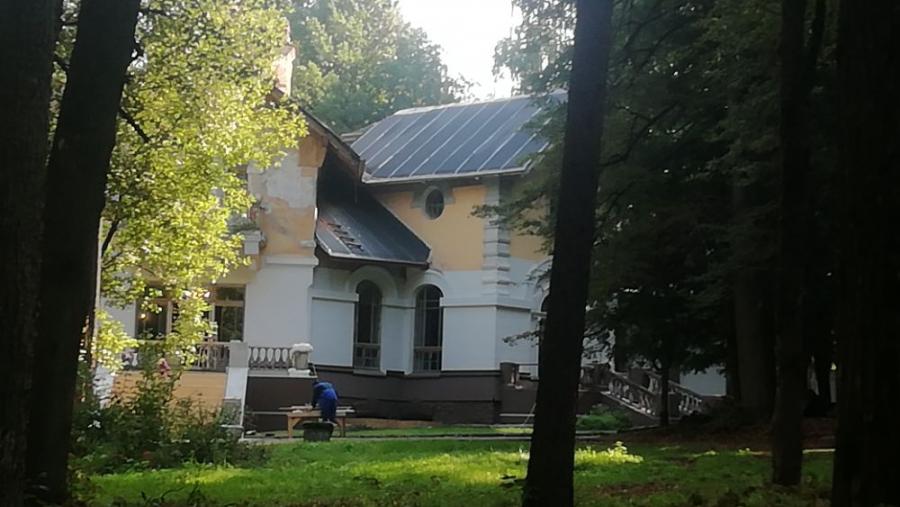 Сегодня на Морозовской даче последний съемочный день