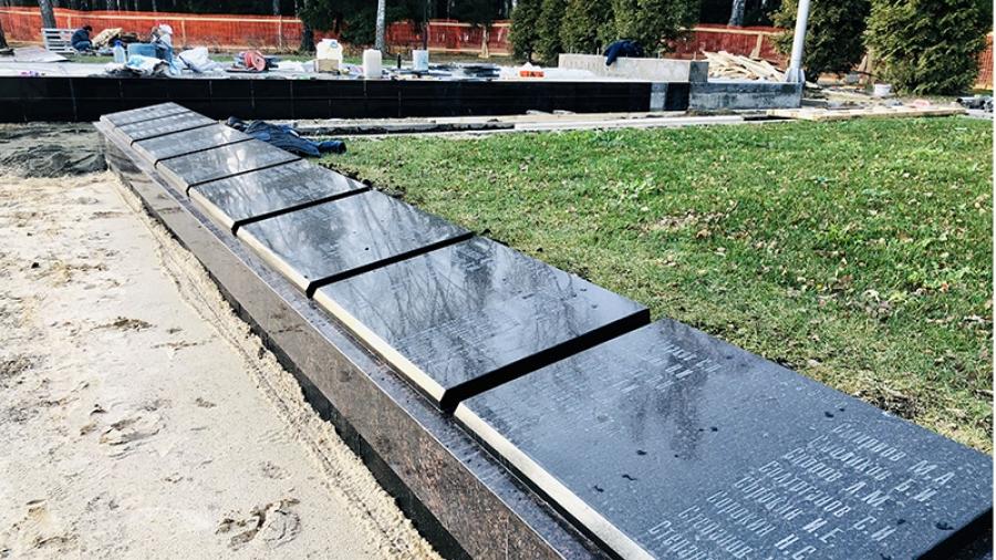 Реконструкция мемориала в Обнинске укладывается в отведенные два месяца