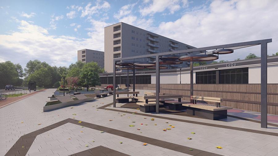Сквер за подводной лодкой сдадут к 10 июля, а вот реконструкция площади у «Горбатого» может задержаться