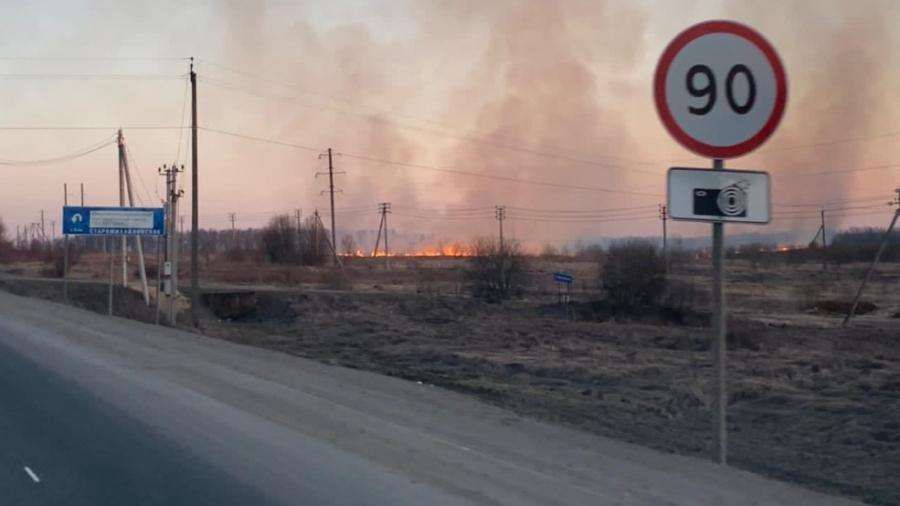 В Калужской области начался пожароопасный сезон