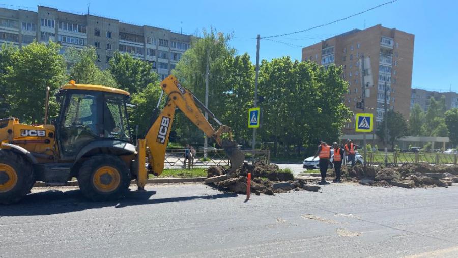 Ремонт дорог на Маркса, Белкинской и Блохинцева обещают завершить к середине июля