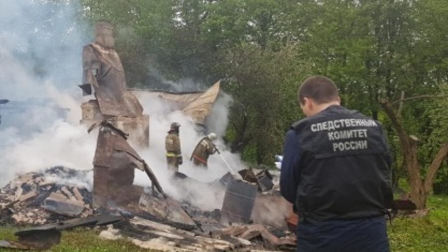 Москвич погиб при пожаре в Малоярославецком районе