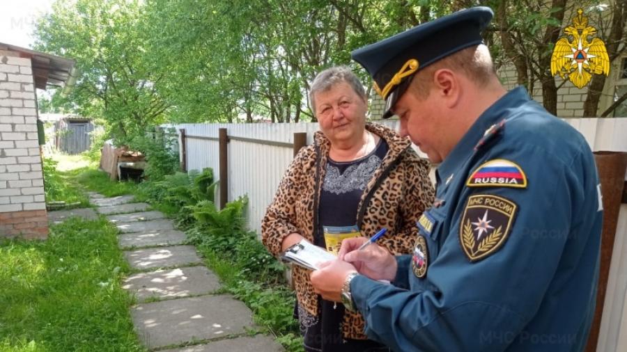За сжигание мусора и жарку шашлыков на участках в Калужской области с начала года оштрафовали уже 126 человек