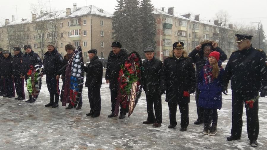 В Обнинске прошел митинг в честь Дня защитника Отечества