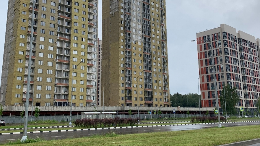 В обнинском ЖК «Олимп» оперативно устранили последствия вчерашнего урагана