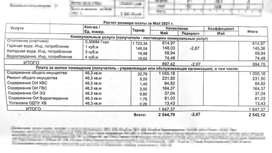 Оплата общедомовых нужд в доме Энгельса, 19а взлетала более чем в 20 раз!