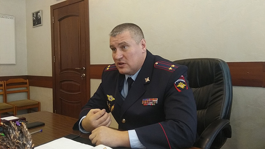 Начальник обнинского ОВД Сергей Воронежский рассказал об основных преступлениях, совершающихся в городе