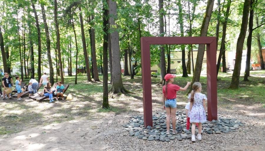 Новый фонтан в городском парке засорился из-за непогоды