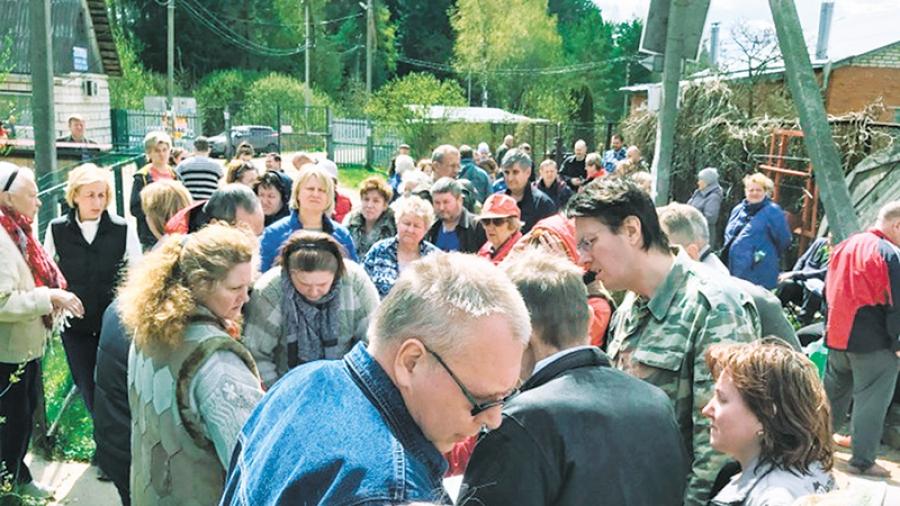 Малоярославецкая администрация судится с московским предприятием, деятельность которого по весне вывела людей на стихийный митинг