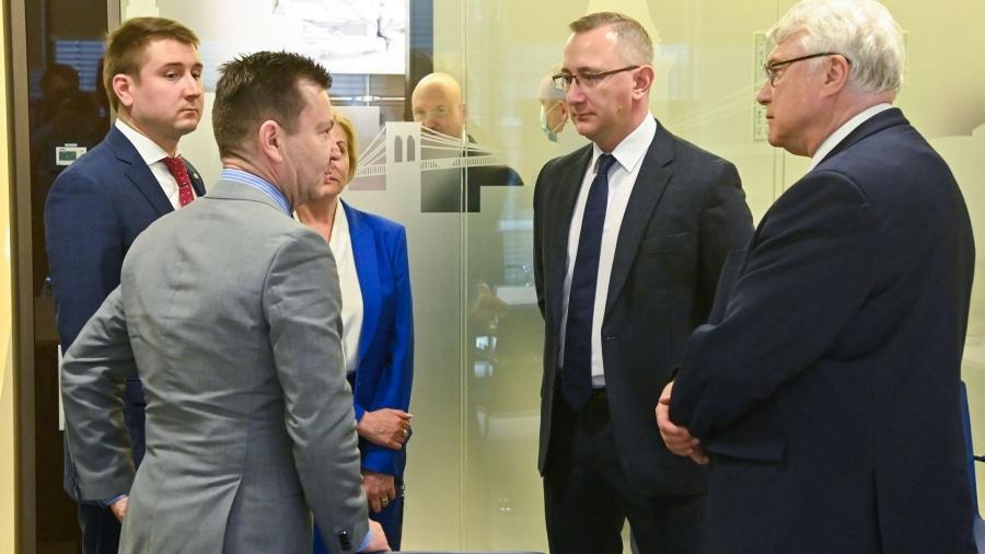 Владислав Шапша встретился с представителями американских деловых кругов
