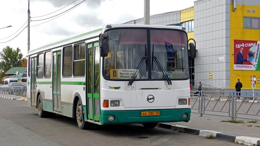 Жители Обнинска попросили губернатора решить вопрос со старыми городскими автобусами