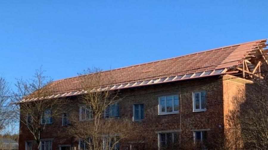 В Жуковском районе приступили к ремонту крыш по программе капремонта